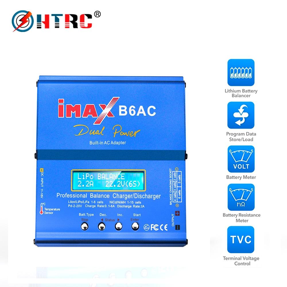 iMAX B6AC 80W 6A Dual Power RC Lipo Battery Balance Charger Discharger Lipo Lipo Nimh Nicd Battery With Digital LCD ScreeniMAX B6AC 80W 6A Dual Power RC Lipo Battery Balance Charger Discharger Lipo Lipo Nimh Nicd Battery With Digital LCD Screen