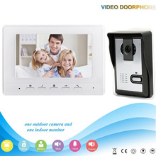 Xinsilu V70H-L 1V1 XSL manufacturer 7 inch Color Water-proof Video door phone system and audio intercom door phone for villa