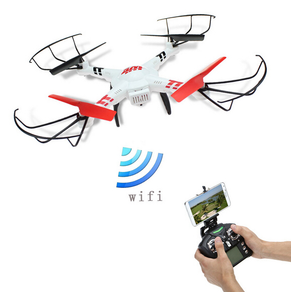 WLtoys V686K Wifi Video Real-time Phone FPV Quadcopter with Camera Headless Mode 2.4G 4CH 6-Axle Gyro RC Drone UFO RTF VS X5SW jjr c jjrc h43wh h43 selfie elfie wifi fpv with hd camera altitude hold headless mode foldable arm rc quadcopter drone h37 mini