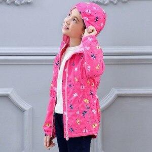 Image 4 - Su geçirmez endeksi 5000mm sıcak çocuk ceket bebek kız ceketler rüzgar geçirmez çocuk giyim çocuk giyim 3 14 yıl eski
