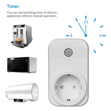 Mini Smart Wifi Socket US/EU/UK/AU Plug Remote Control Power Strip Timing Switch for Smart Home Automation Electronic System
