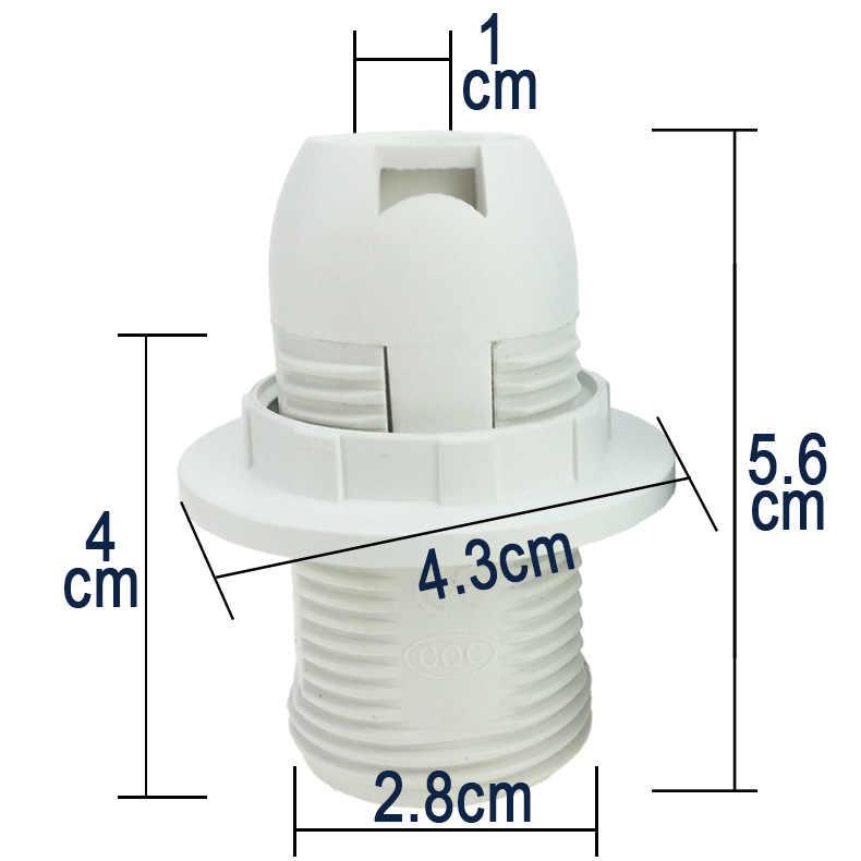 HGhomeart полный зуб E14 винт патрон E14 аксессуары для ламп патрон E14 аксессуары для освещения