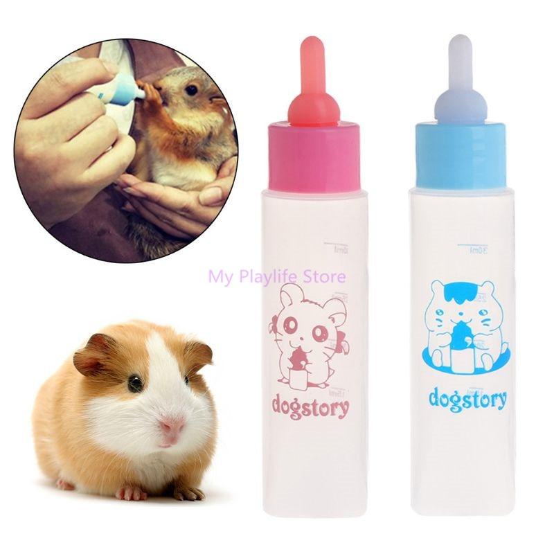 dog-cat-puppy-pet-milk-bottle-30ml-silicone-short-long-nipple-small-animal-water-feeding-hamster-squirrel-supplies-c42