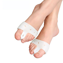 2Pcs=1Pair Hallux Valgus Orthotics Bone Thumb Corrector Big Toe Separators Aligner Toes Sup