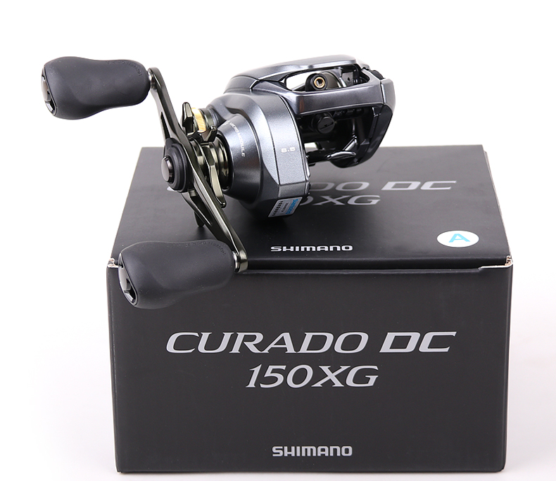 2018 NEW SHIMANO CURADO DC 150 150hg 150xg 151 151hg 151xg Low profile baitcast fishing reel
