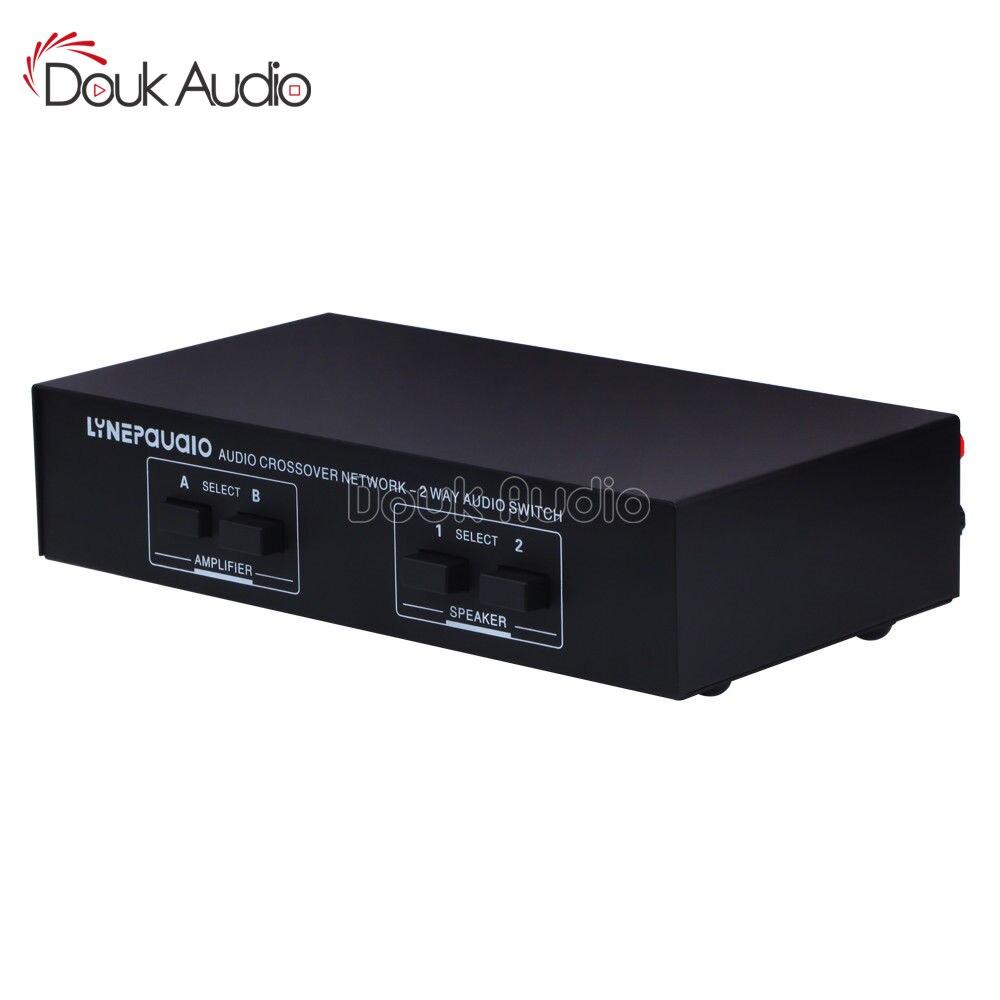 2 Input 2 Output Passive Switcher Speaker Amplifier Comparator Audio Selector