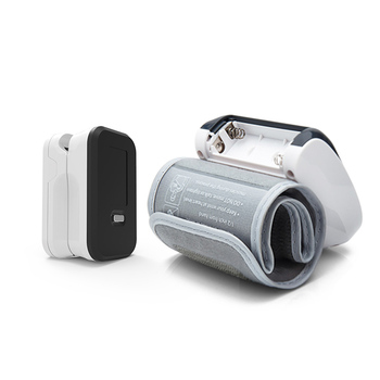 BOXYM Fingertip Pulse Oximeter & Wrist Blood Pressure Monitor SpO2 PR Sphygmomanometer Family Health Care 6
