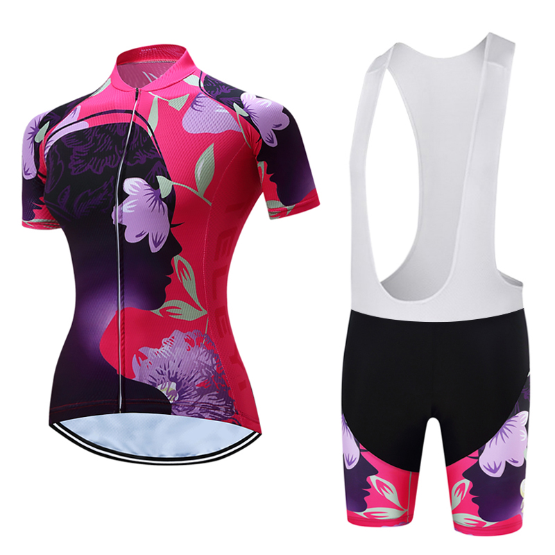 c566a19a7 Women s 2019 Cycling Clothes Racing Bike Clothing Female Cycle Maillot  Skinsuit Uniform MTB Mountain Bicycle Jersey
