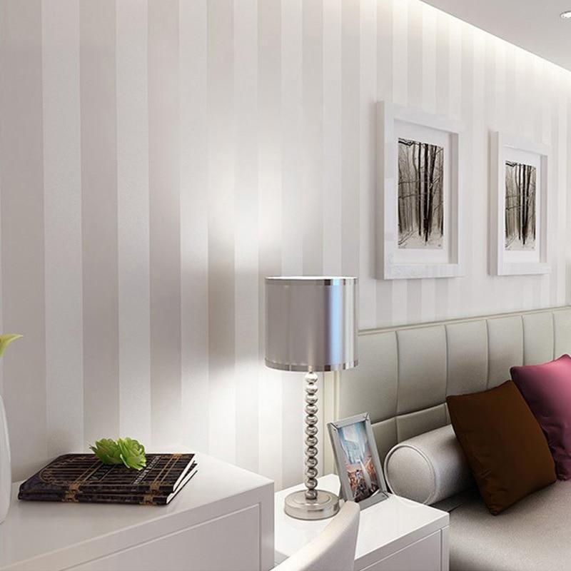 Wunderbar Moderne Minimalist Striped Glitter Wand Papier Vlies Tapete Für Wohnzimmer  Sofa TV Hintergrund Tapete Papel De Parede In Moderne Minimalist Striped  Glitter ...