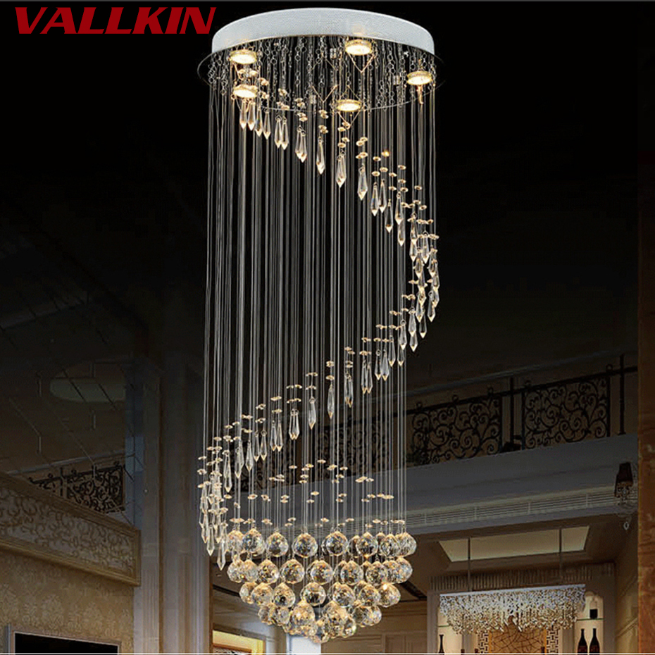 Modern LED Pendant Lights For Living Room lamparas de techo Indoor Crystal Lamp Light Fixture luminaires suspendus Lighting bdbqbl modern simple creative iron wall lamp led bedroom bedside living room lighting fixture lamparas de techo pared