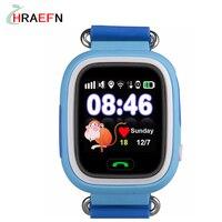 תינוק חכם GPS tracker watch עם מסך מגע Wifi שיחת SOS צג אנטי אבוד DeviceTracker לילדים בטוחים מיקום מתנה הטובה ביותר