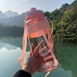 Gorąca sprzedaż na zewnątrz Fitness sport butelka czajnik przenośne o dużej pojemności wspinaczka rower butelki z wodą BPA bezpłatny dostęp do siłowni miejsca kubki w Bidony od Dom i ogród na