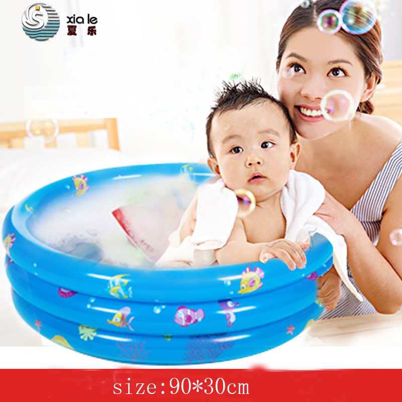 90 * 30 Cm Inflatable Three-ring Swimming Pool Children\'s Bath The ...
