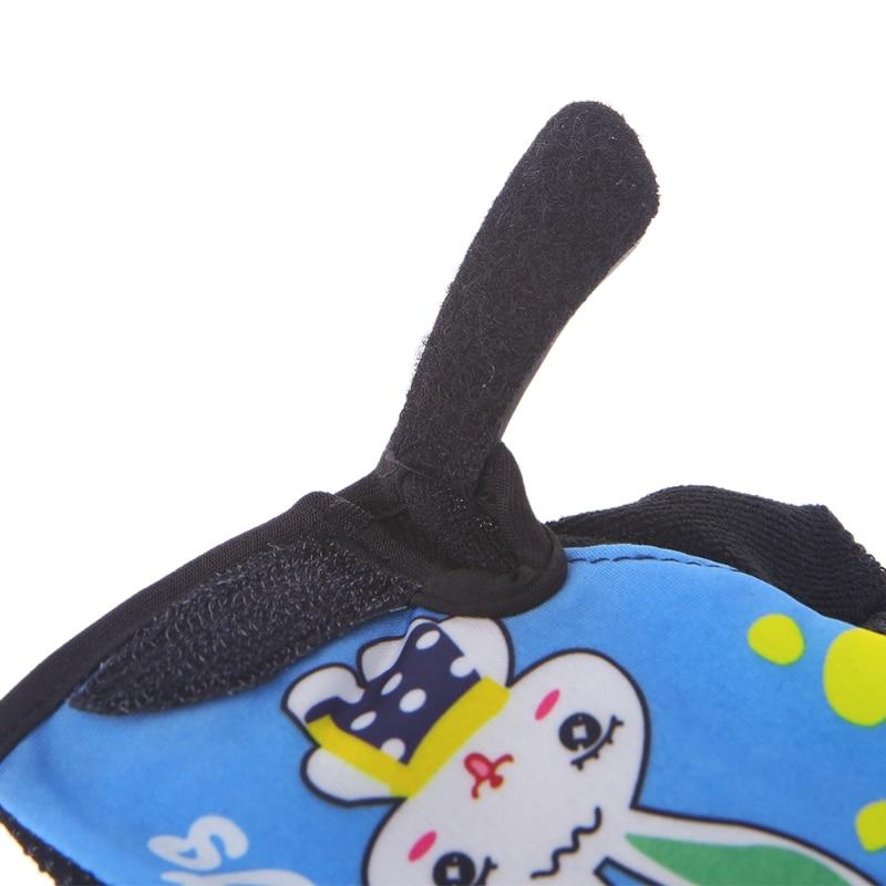 Купить с кэшбэком Bike Bicycle Cycling Gloves Kids Child Rabbit Outdoor Sports Non Slip Breathable Half Finger