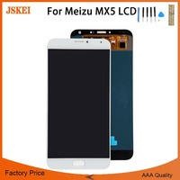For Meizu MX5 M575M M575U LCD Display Touch Digitizer Screen Replacement 5.5 inch For Meizu MX5 No Dead Pixe Factory Price