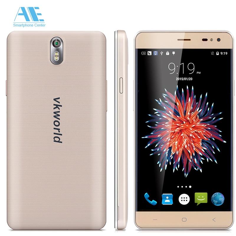 Цена за Оригинал Vkworld G1 Смартфон MT6753 Octa Ядро 5.5 ''Android 5.1 Сотовый телефон 13.0MP 3 ГБ RAM 16 ГБ ROM 4 Г LTE 5000 мАч Мобильного Телефона