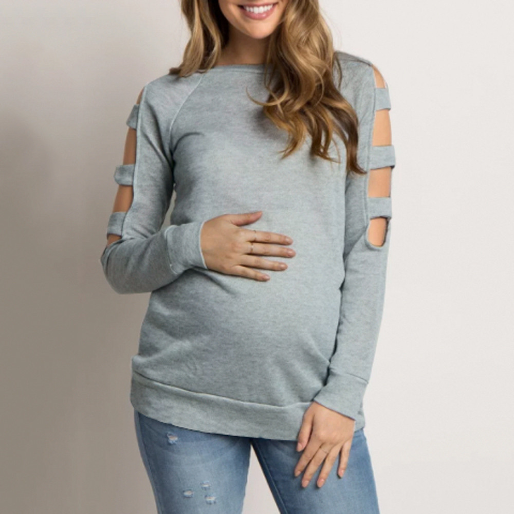 3c990ccef Women clothing Maternity Top Blouse Shirt pregnancy Nursing