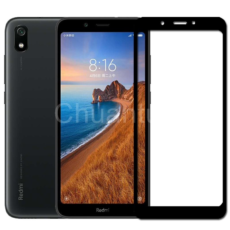 Image 2 - 25 Pcs/Lot Full Coverage Screen Protectors For Xiaomi Redmi 7A Scratch Proof Protective Film Tempered Glass For Xiaomi Redmi 7A-in Phone Screen Protectors from Cellphones & Telecommunications