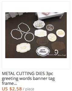 Metal cutting dies 016