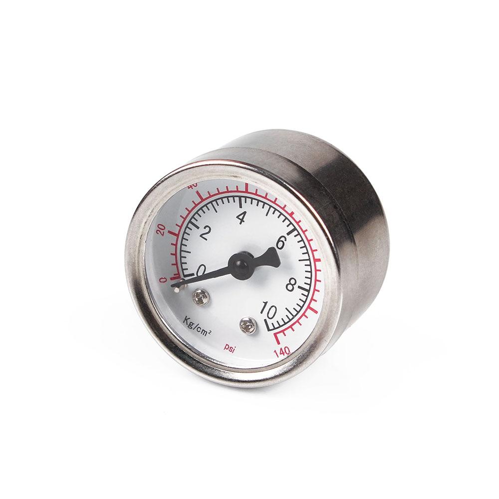 Manometer Utility Gauges PT1/4 Thread 60mm Brass Pressure Gauge 0-10bar 140psi
