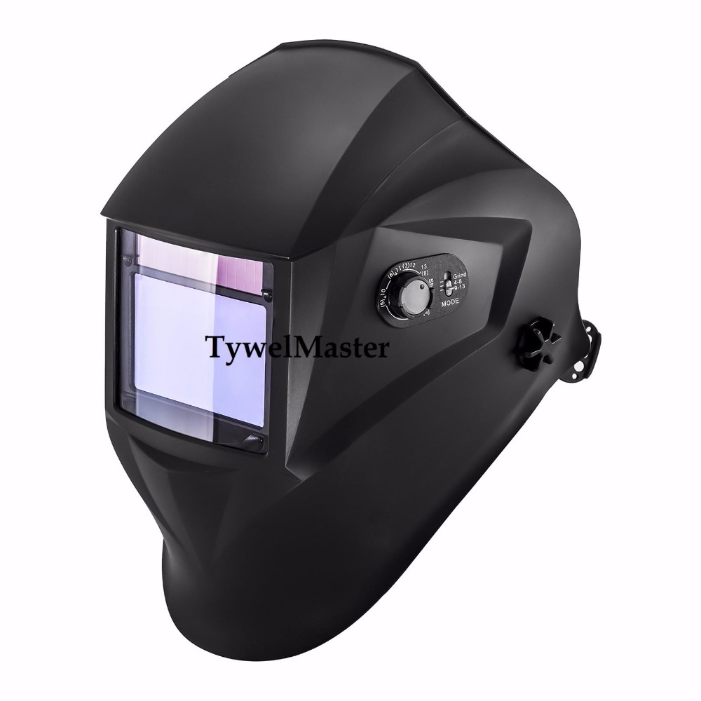 Welding Helmet Welding Mask 100*65mm 1211 4 Sensors Welder Hat Cap Solar Auto Darkening MIG TIG Grinding 3-13 CE ANSI CSA AS solar auto darkening welding mask helmet welder cap welding lens eye mask filter lens for welding machine and plasma cuting tool