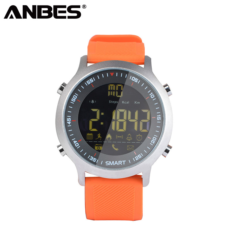 ANBES Smart Watch EX18 Track Wristwatch Passometer Call Reminder Fitness Tracker Alarm Clock Sport Smart Watch For Child Adult