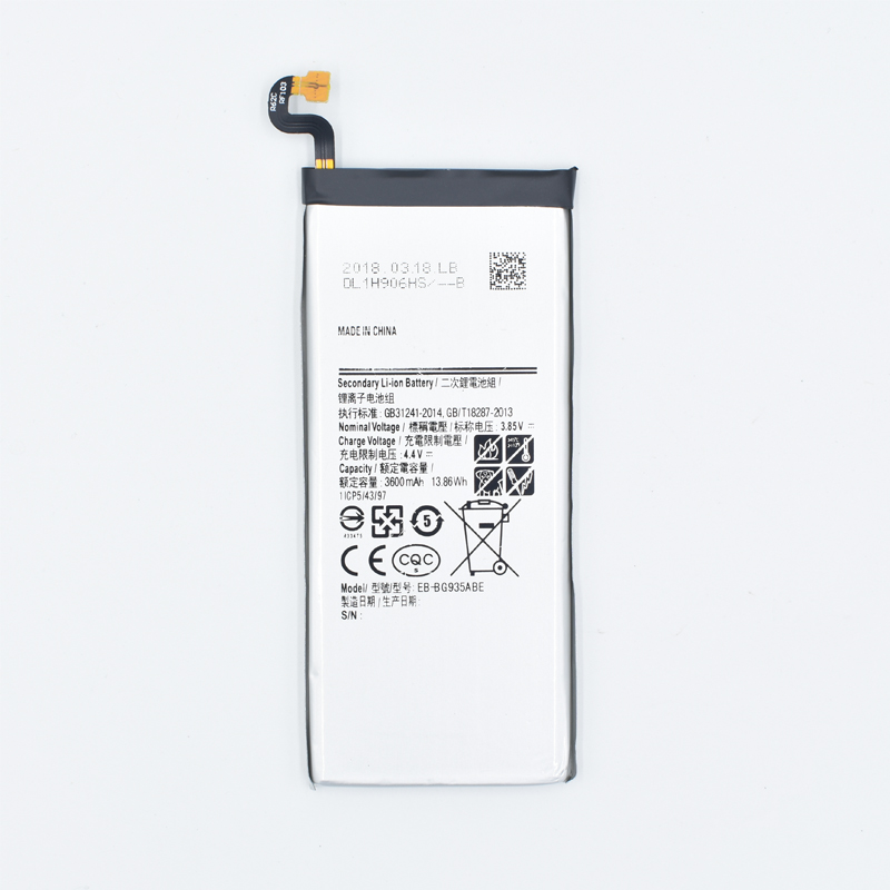 NUOVO 2018 Hekiy Originale EB-BG935ABE Bordo Batteria Del Telefono Per Samsung Galaxy S7 G935F G9350 Sostituzione Della Batteria Mobile Batteria