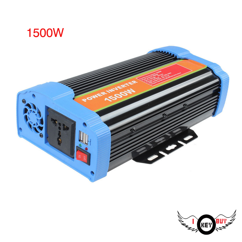 DC to AC 12v 220v 1500w off-grid power inverter