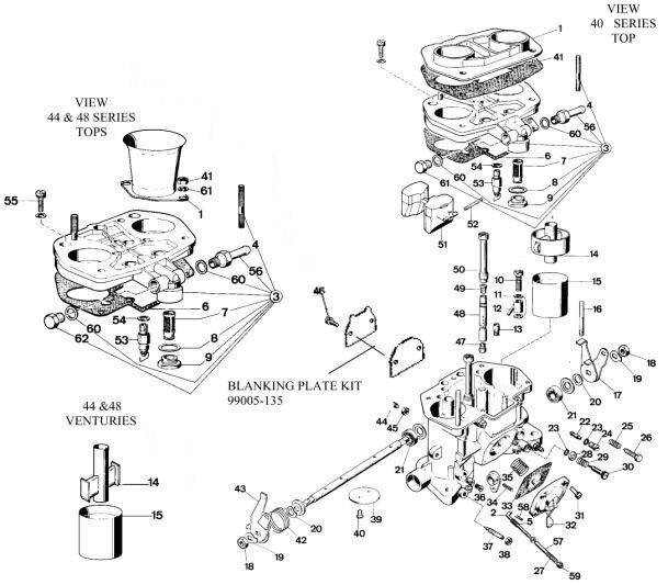 Fajs Weber 40idf Carburator In Carburetors From Automobiles