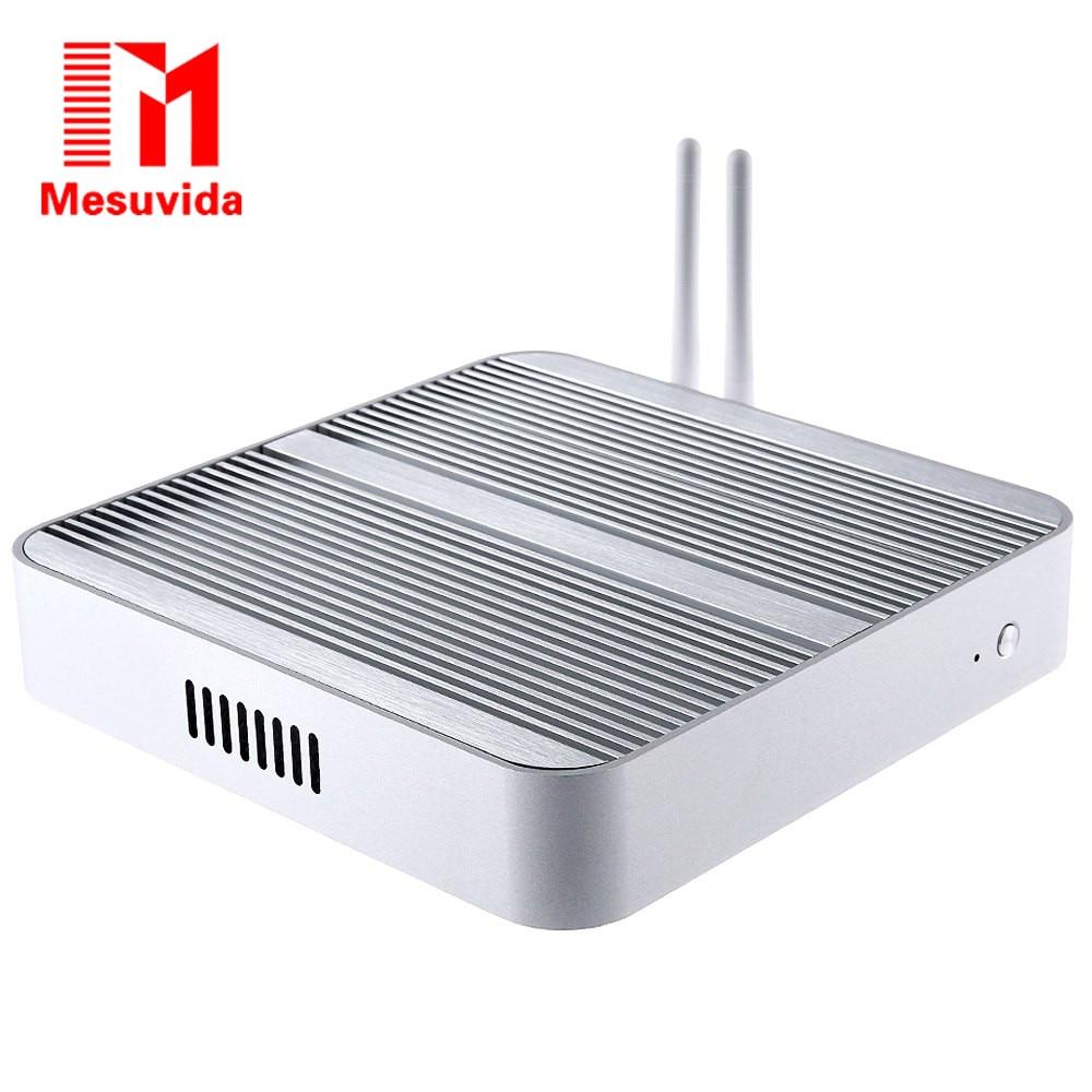 Mesuvida Muti-function Cool Durable Quality TV Box HYSTOU FMP03 Fanless Mini PC Core-i5-4200U HM86 Express with HDMI VGA Output