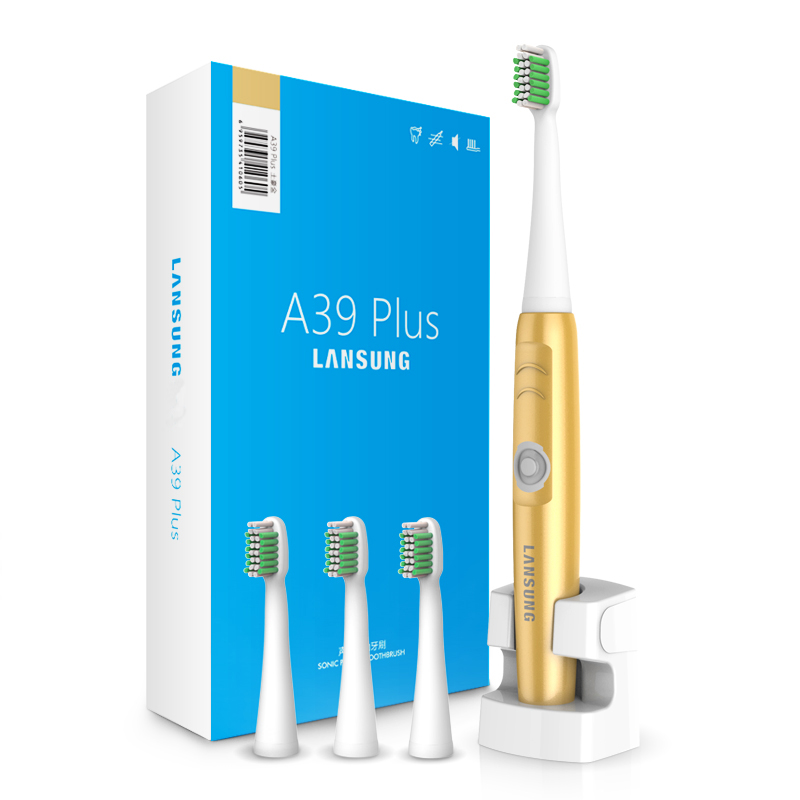 Wireless Charge Sonic Electric Toothbrush Waterproof Electric Teeth Brush 4 Head Tooth Brush Rechargeable For Adult