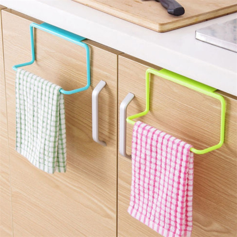Kitchen Towel Bathroom Home Hanging Tools Bathroom Kitchen Top Home Storage Organization 19*6*9cm LQZ8187