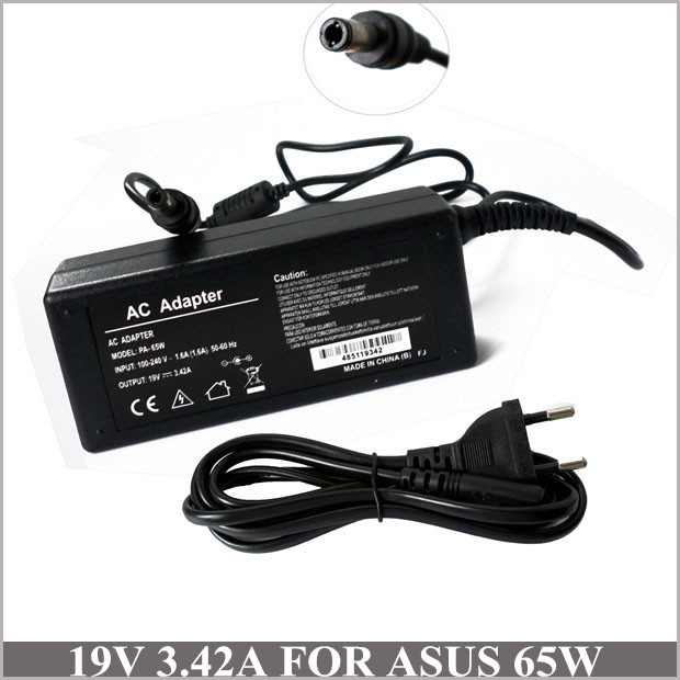 19V 3.42A 65W <font><b>Battery</b></font> Charger Laptop AC Adapter For Caderno <font><b>Asus</b></font> ADP-65JH BB K50i K52F K60IJ P50ij Z99 B50 B50A <font><b>K501</b></font> K50IJ image