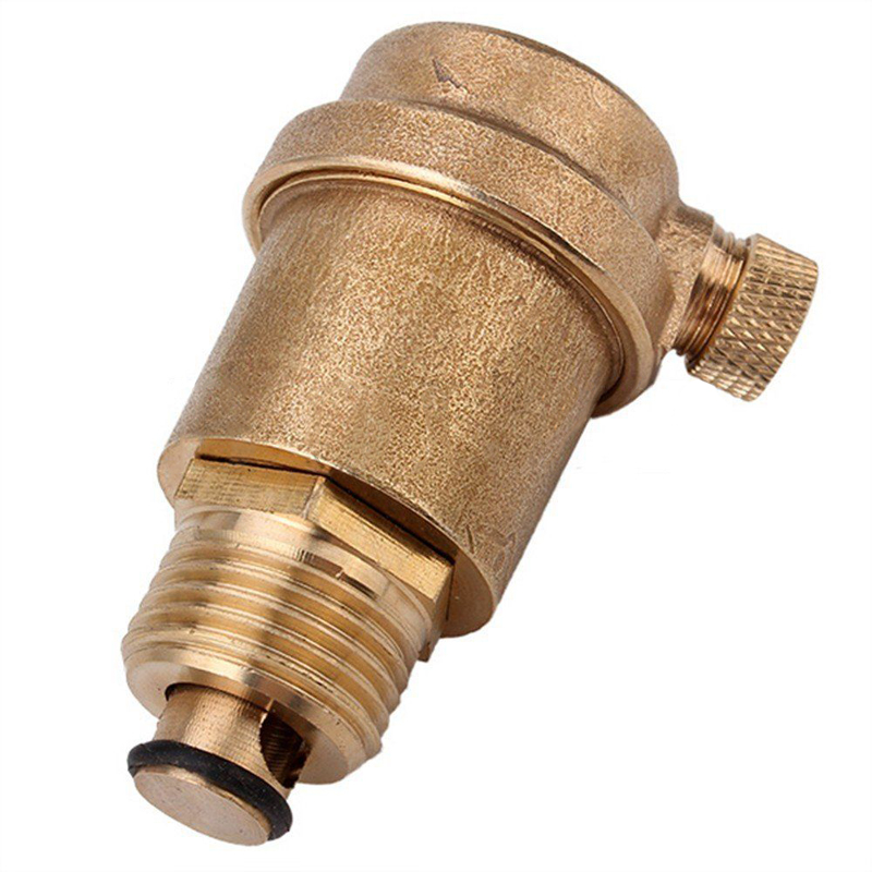 """1/2"""" Brass Automatic <font><b>Air</b></font> Vent <font><b>Valve</b></font> for Solar Water Heater Pressure Relief Value Hardware Tools Mayitr"""