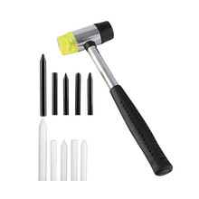 цена на PDR Tap Down Tool Set of 5 - PDR Tools Dent  Pen - Paintless Dent Repair Tools PDR Tools Paintless Dent Repair PDR black Pen