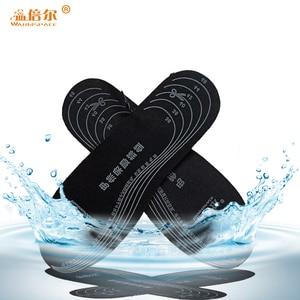 Image 2 - חורף 3.7V סוללה Electrice מדרסים מחומם נטענת חורף לשמור חם רגל רפידות גברים נשים חשמלי מחומם נעל הכנס
