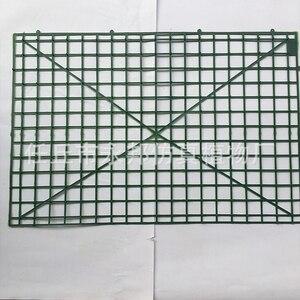 Image 2 - 10 stks/set Kunstmatige Bloem Muur Plastic Panel Houder Rack Voor DIY Bruiloft Bloem Foral Achtergrond Bloem Accessoires YYY9959