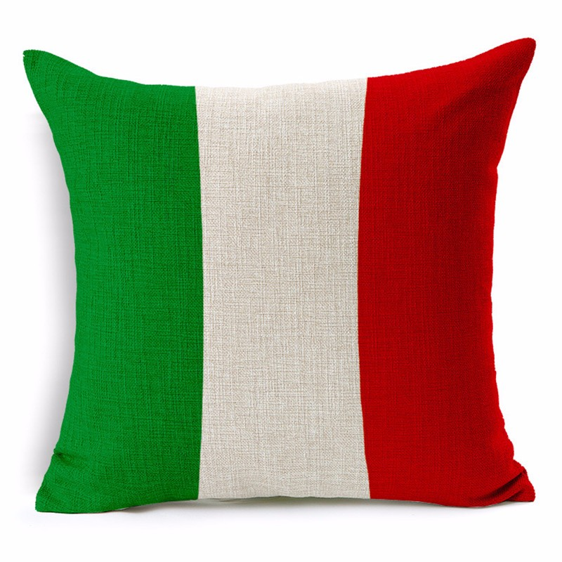 Italy Pillowcase Cushion Cover