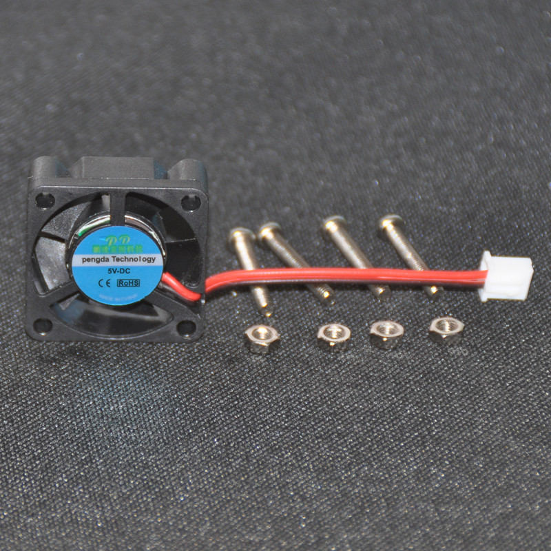 Cooling Fans For Raspberry PI 3 DC 5V 0 2A 2Pin Brushless Cooling Fan With  Screws for Raspberry Pi 3 B+ 30*30MM