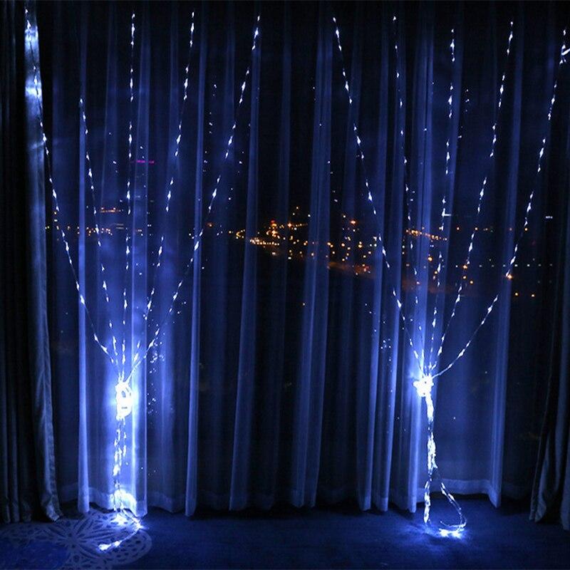 220v Eu Plug 33m 320leds Waterfall Lights 4 Colors Christmas Lights