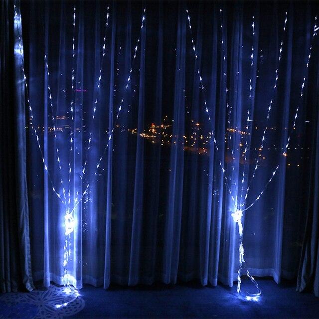 220v Eu Plug 3 3m 320leds Waterfall Lights 4 Colors Christmas Lights