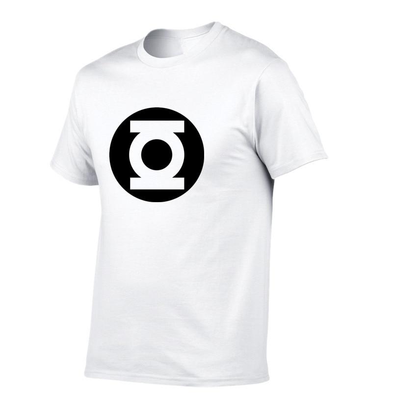 b7c996156d5 2018 New Green Lantern t shirt Men The Big Bang Theory T-shirt Top Quality  Cotton Sheldon Cooper Super heroT Shirts Men