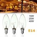 O mais baixo Preço E14 15 W/25 W/40 W Lâmpada de Filamento Incandescente Edison Vintage Luz Quente 220 V