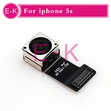 50pcs lot Original For iPhone 5S Mobile Phone Replacement Parts Big Rear Back Camera Module Lens