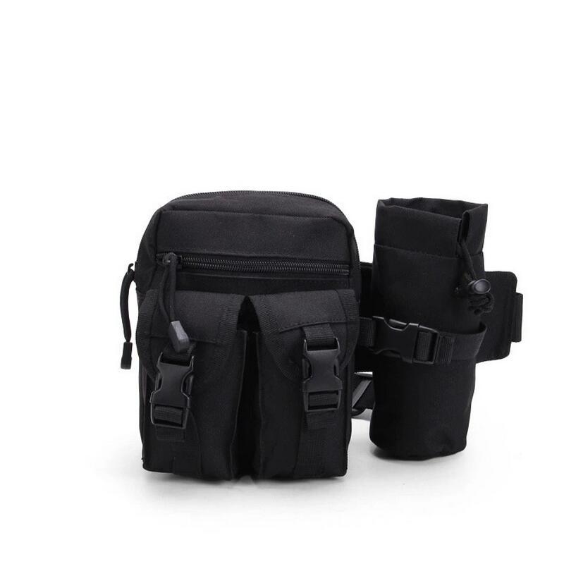 Táctica militar hervidor de cintura bolsa paquete Acampar Al Aire Libre a prueba