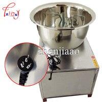 1 pc misturador automático comercial da massa 220 v/110 v 30kg misturador de aço inoxidável agitando o misturador da massa da máquina do macarrão amassar HMP-30