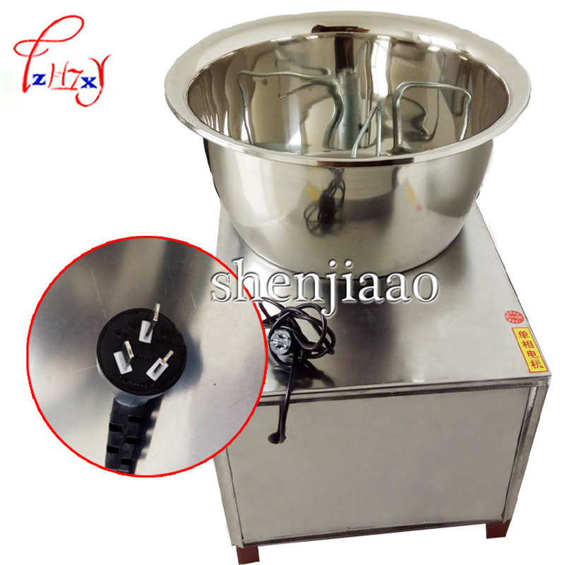 1PC Commercial Automatic Dough Mixer 220V/110V 30kg stainless steel Mixer Stirring Mixer the Pasta Machine Dough Kneading HMP-30 commercial stainless steel dough divider automatic cutting machine bread machine dough separator yf 36 220v 380v 750w 1pc