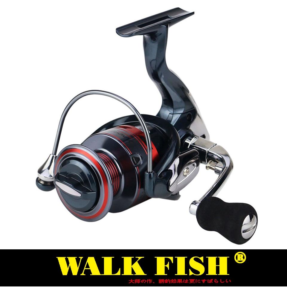 WALK FISH WALK 13 1BB Spinning Fishing Reel Metal XS1000 - 7000 Series Fishing