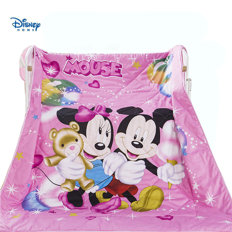 pink heart minnie mickey quilted bedspreads queen size 200*230cm summer quilt cotton cover 3d bed linens girl princess blanketpink heart minnie mickey quilted bedspreads queen size 200*230cm summer quilt cotton cover 3d bed linens girl princess blanket