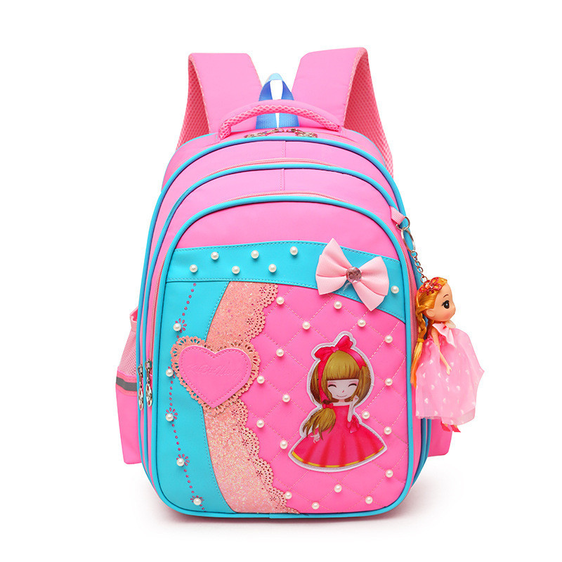 2018 New Children School Bags For Girls Orthopedic kids Backpack Primary School Backpacks schoolbag satchel Mochila Infantil Zip ...